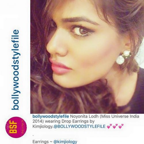 Beauty Queen Noyonita Lodh (Miss Universe India 2014 Bollywood Celeb) Feb 2016